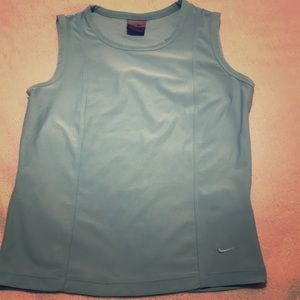 Women's M Nike Dry-Fit Top Blue